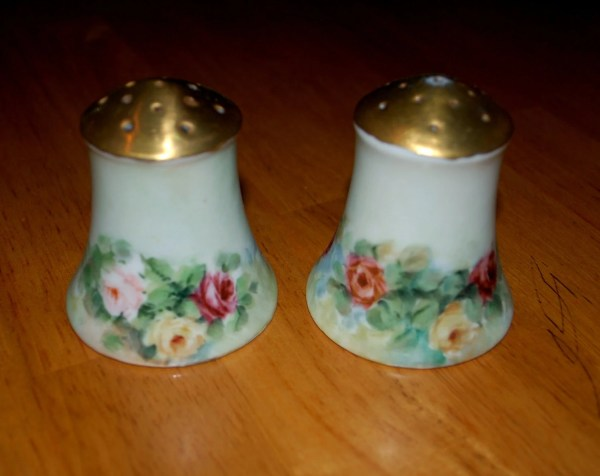 Vintage Nippon Salt And Pepper Shakers Capecodgypsy