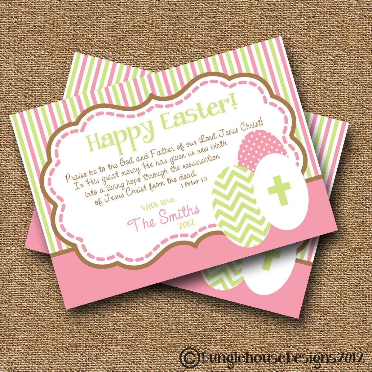 Easter Card Diy Printable Praise Be To God By