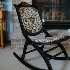Engraved Rocking Chair Accent Chairs With Ottoman Special Flag Day Price 1976 Bicentennial Heirloom Folding