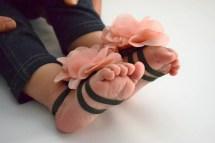 Items Similar Vintage Pink Baby Barefoot Sandals