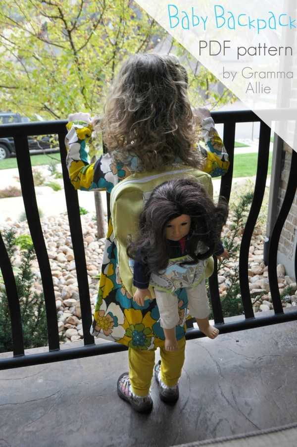 Baby Doll Backpack