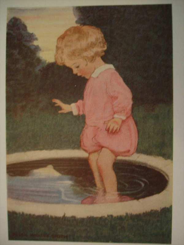 Sweet Antique 1920 Jessie Willcox Smith Wilcox