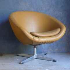 Swivel Pod Chair Height Toilet Mid Century Modern Overman