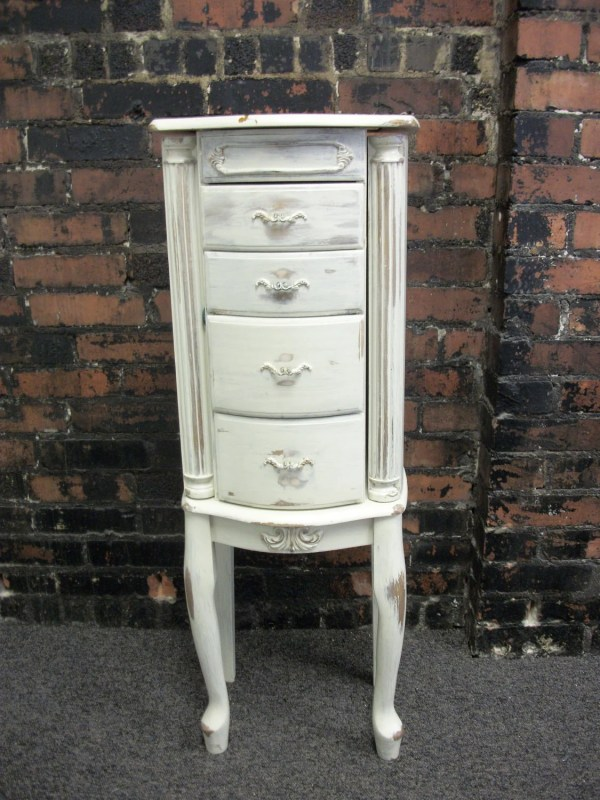 Vintage Jewelry Armoire
