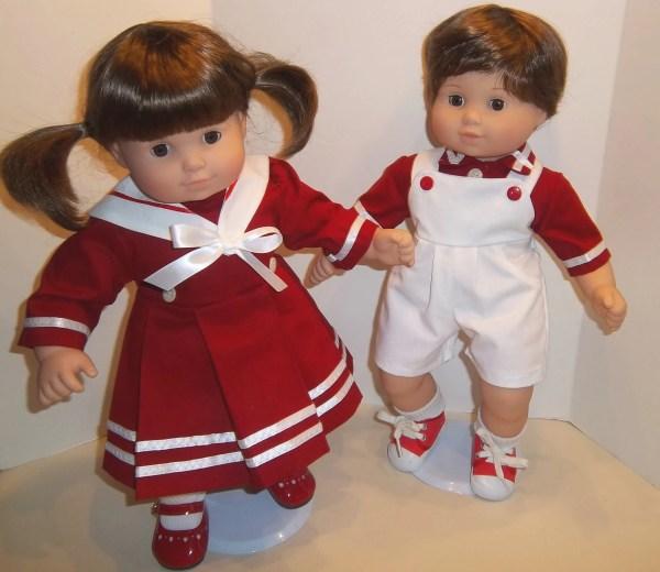 American Girl 15 Bitty Twins Dolls Clothing Boy