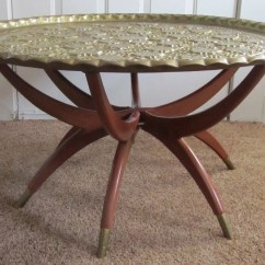 Moroccan Sofa Base Bed Store Near Me Style Brass Top Coffee Table By Remnantpdx On Etsy
