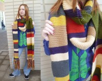 SALE Doctor Who Scarf Fourth Doctor 12 feet long by ...