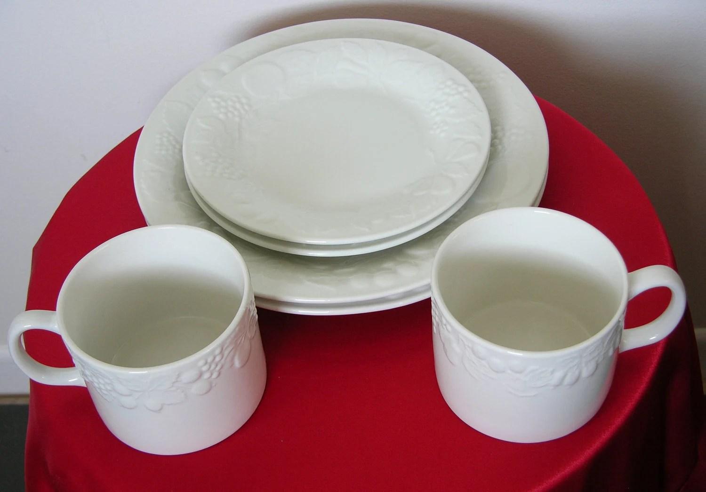 Housewares Gibson Fruit White China