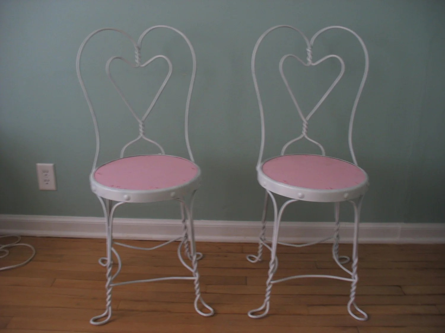 ice cream parlor chairs chair covers exeter antique