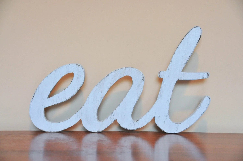 Kitchen Decor Eat Sign