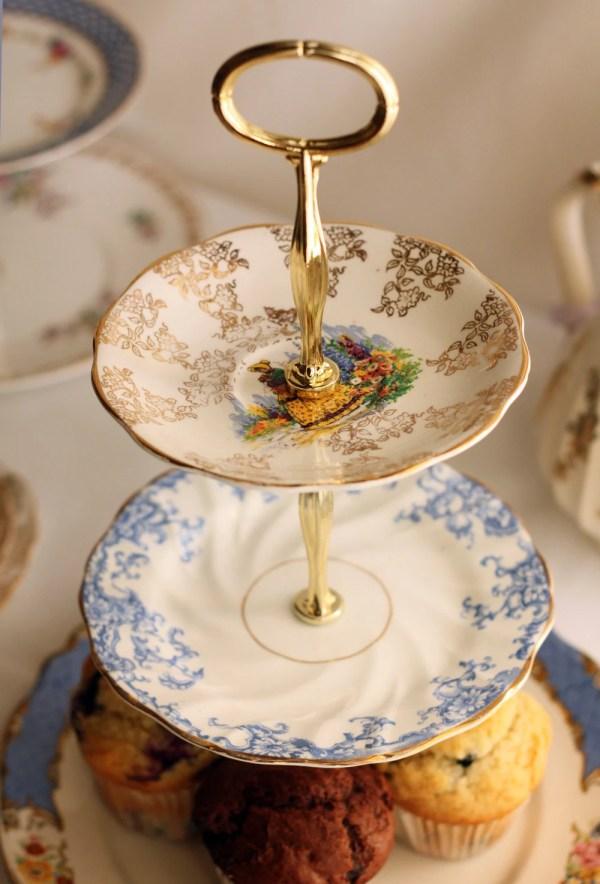 Vintage 3 Tier Cake Stand Wedding Nancysvintagechina