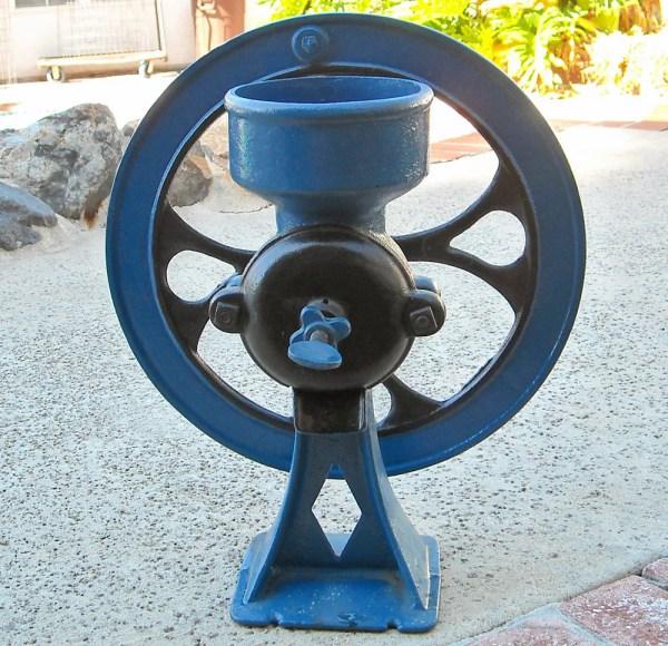 Coffee Mill Grinder Grain Antique Number 2