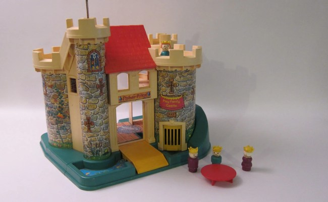 Christmas Sale Fisher Price Castle Vitnage 70 S Toy 993