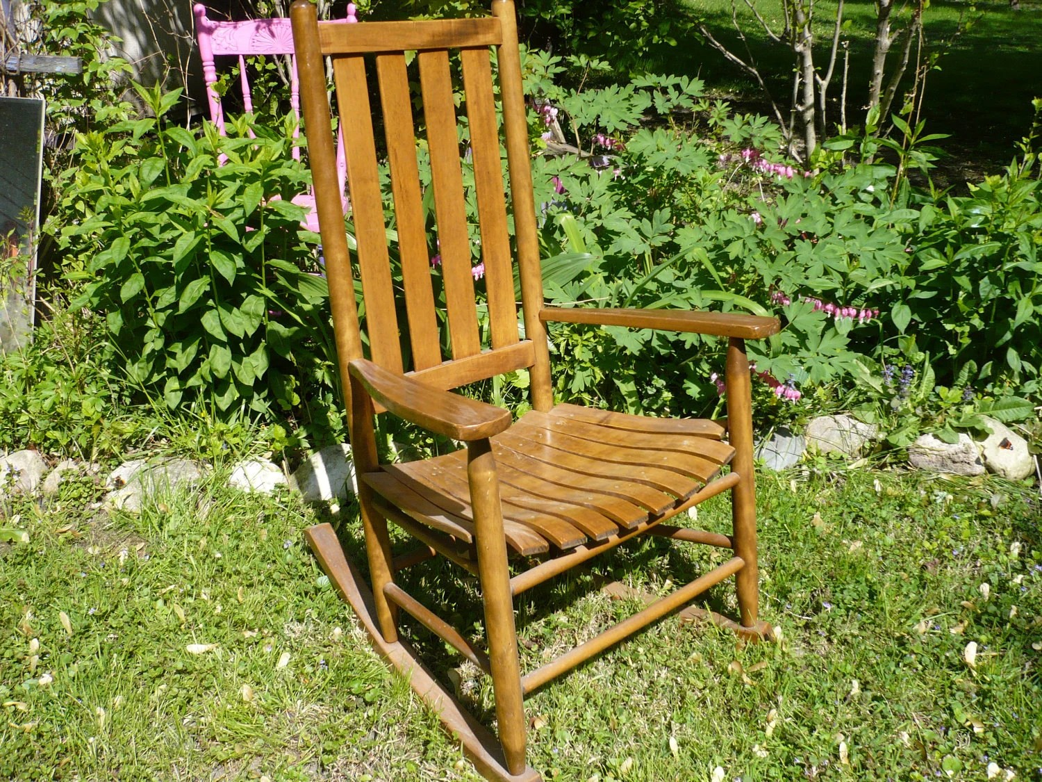Vintage Wooden Chairs Unavailable Listing On Etsy