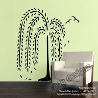 Weeping Willow Tree Wall Decal Nursery Wall Decals Home
