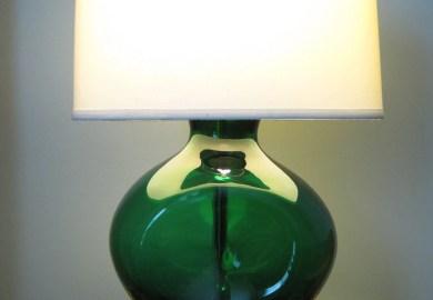 Emerald Green Table Lamp