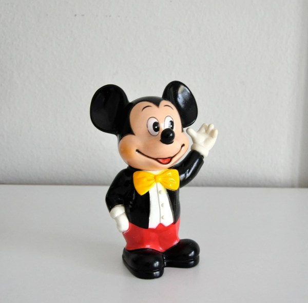 Vintage Mickey Mouse Bank Walt Disney Productions