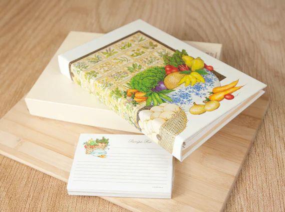 recipe card album