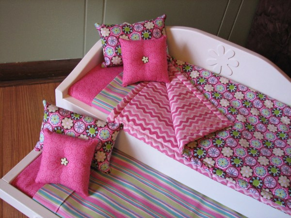 Daybed Trundle Set American Girl 18 Doll Bedding
