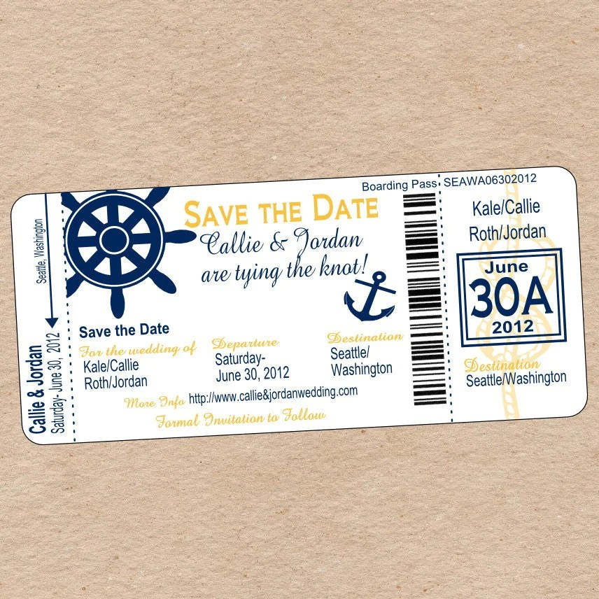 cruise theme party invitations