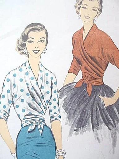 Sewing Pattern Wrap Around Jumper