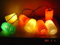 Vintage party patio lantern lights by PennyBunny on Etsy