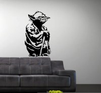 Items similar to Vinyl Wall Art Decal Star Wars Yoda on Etsy