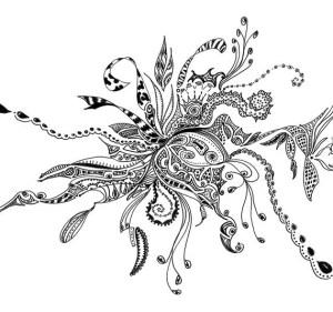 pen ink drawing matte printed cardstock lb