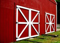 Rustic Decor Red Photography Barn Doors Photo by ...