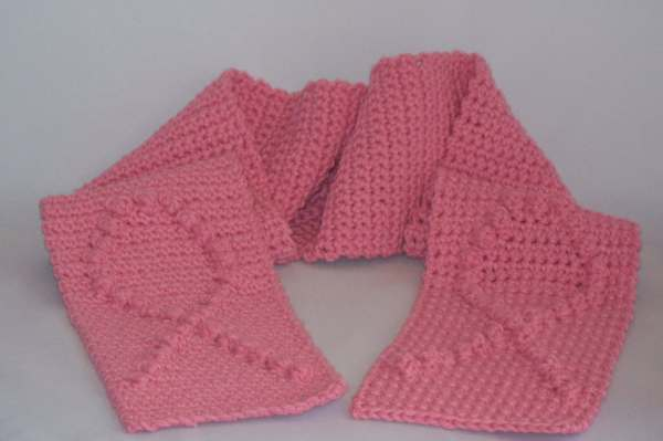 Scarf Breast Cancer Awareness Cotton