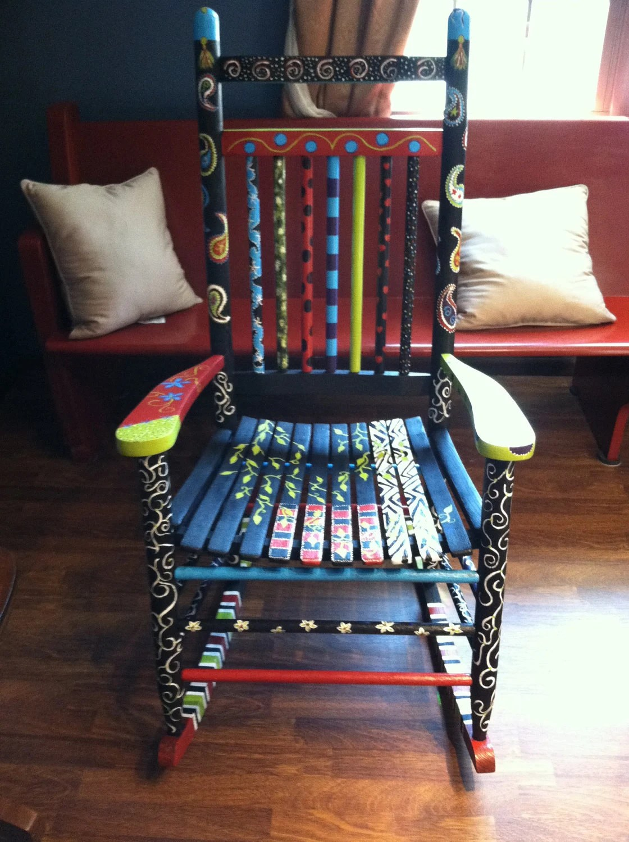 Fun and Funky Rocking Chair