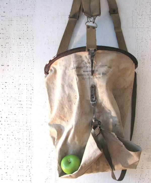 Antique Fruit Picking Bag - Year of Clean Water
