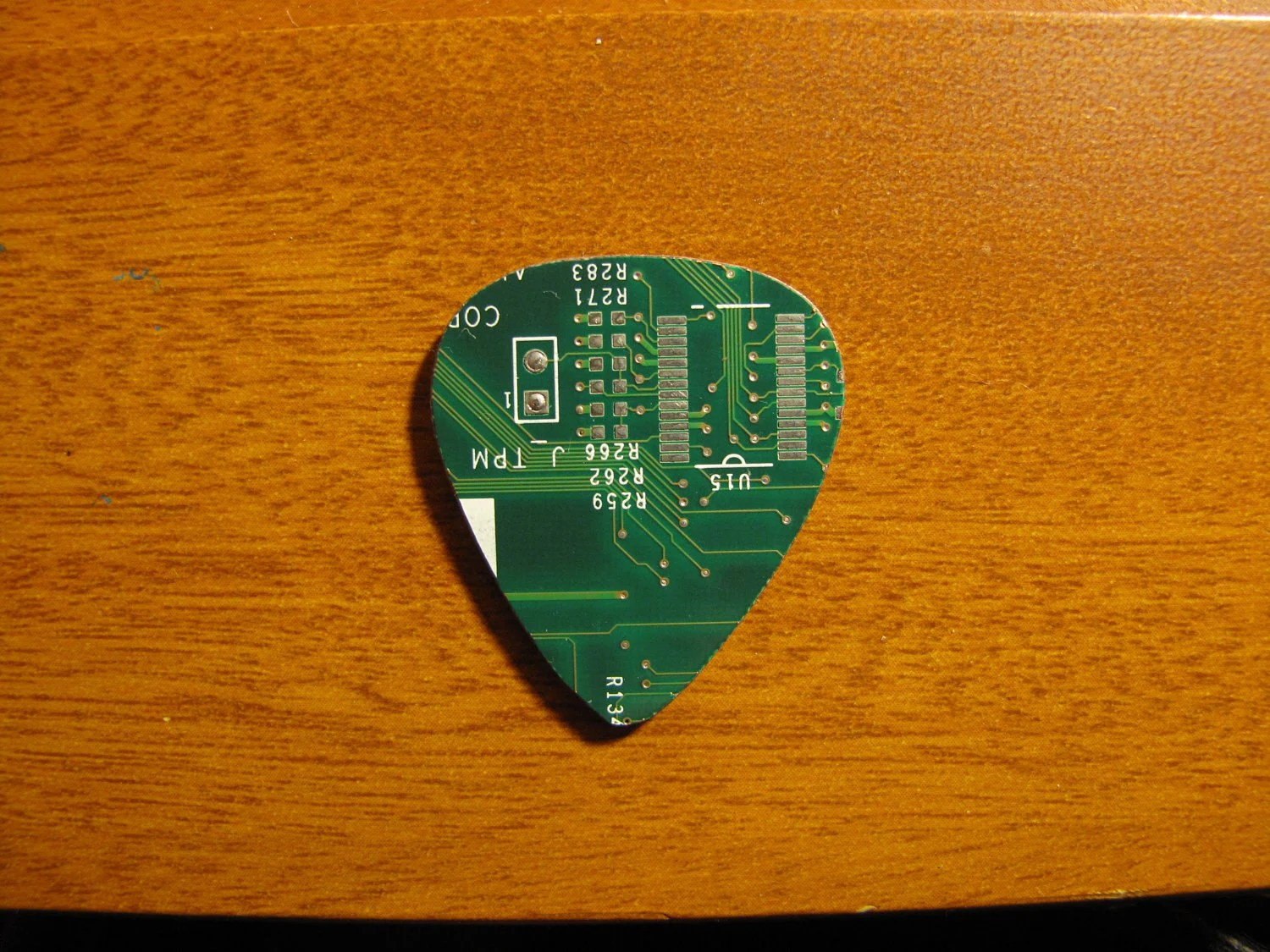 Picture Of How To Make A Circuit Board Guitar Pick
