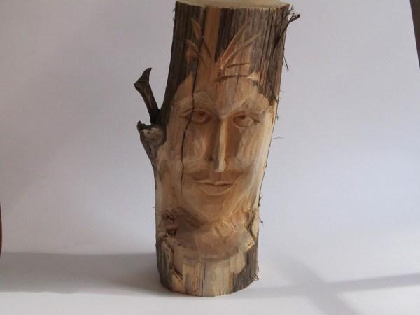 Female Wood Spirit Garden Sculpture Nymph