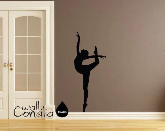 Ballerina Wall Decal Ballerina Wall Sticker by WallConsilia