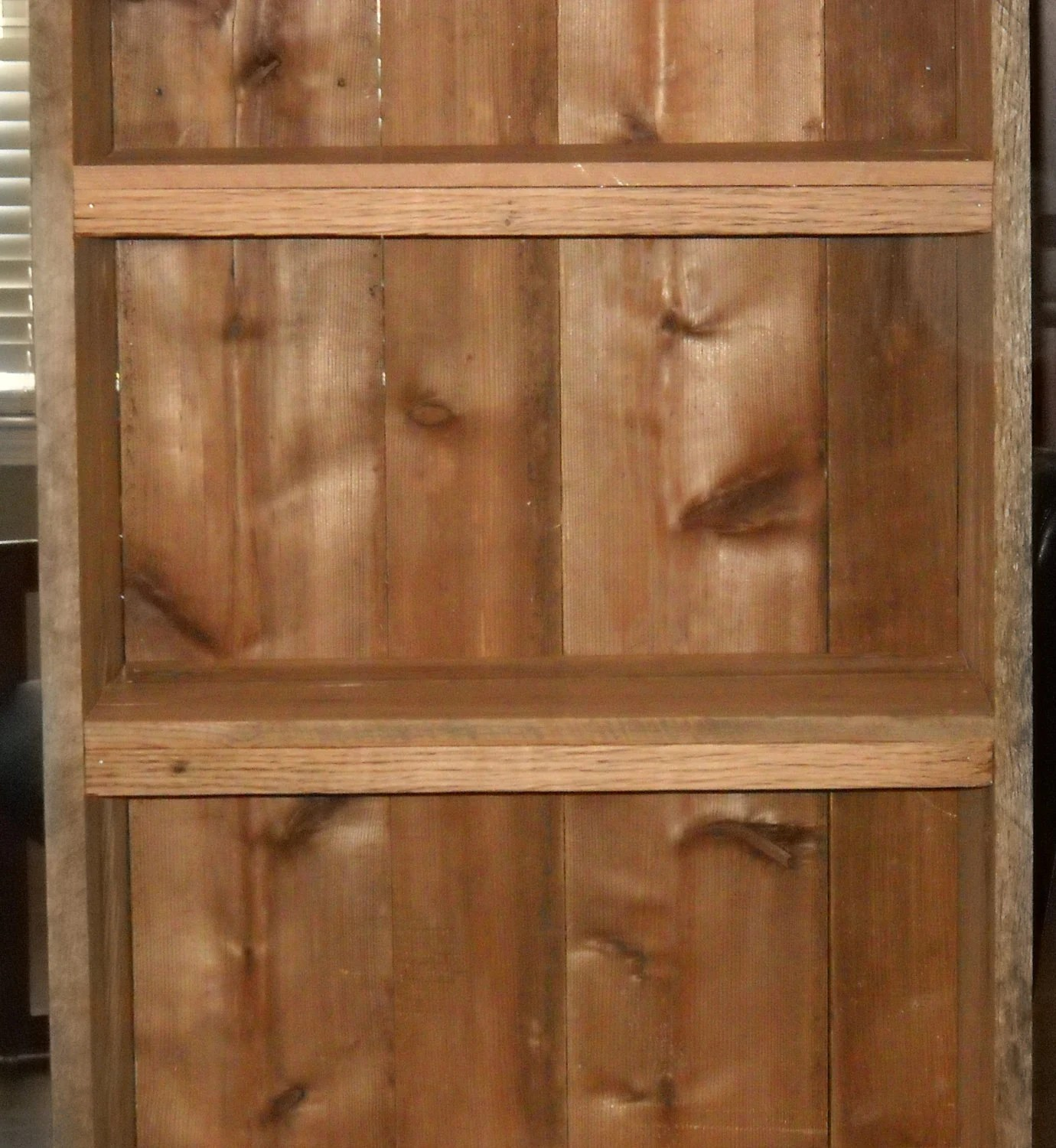 Wood Bookcase Rustic Bookcase Reclaimed Wood