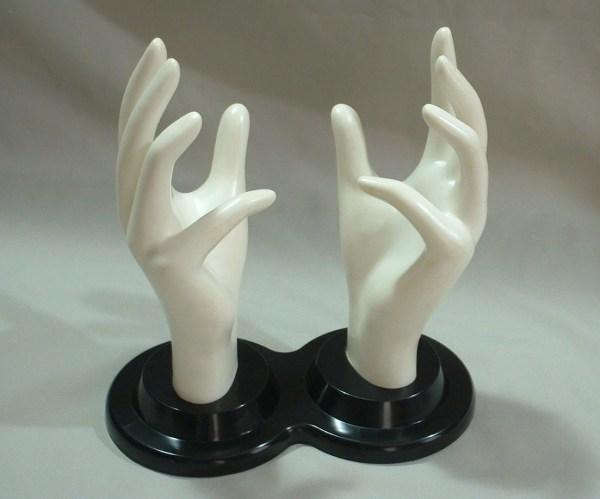 Vintage Mannequin Hands Jewelry Display & Jantiki
