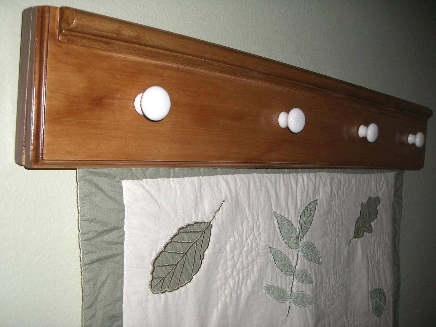 Wall Hanging Quilt Rack