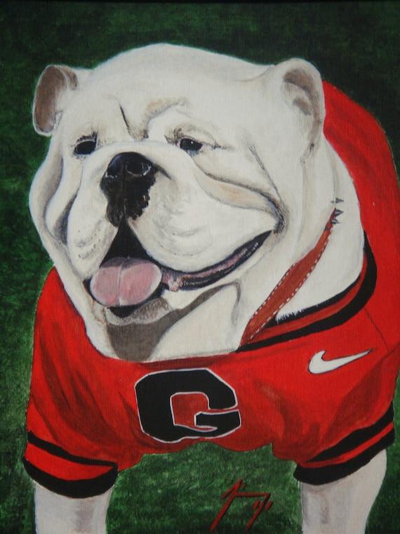 Georgia Bulldogs Football Prints