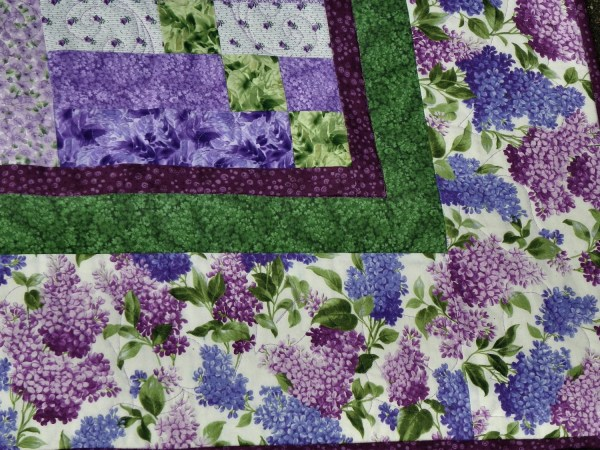 Lilac Garden Bed Quilt Purple Lovers. Ginnysquilts
