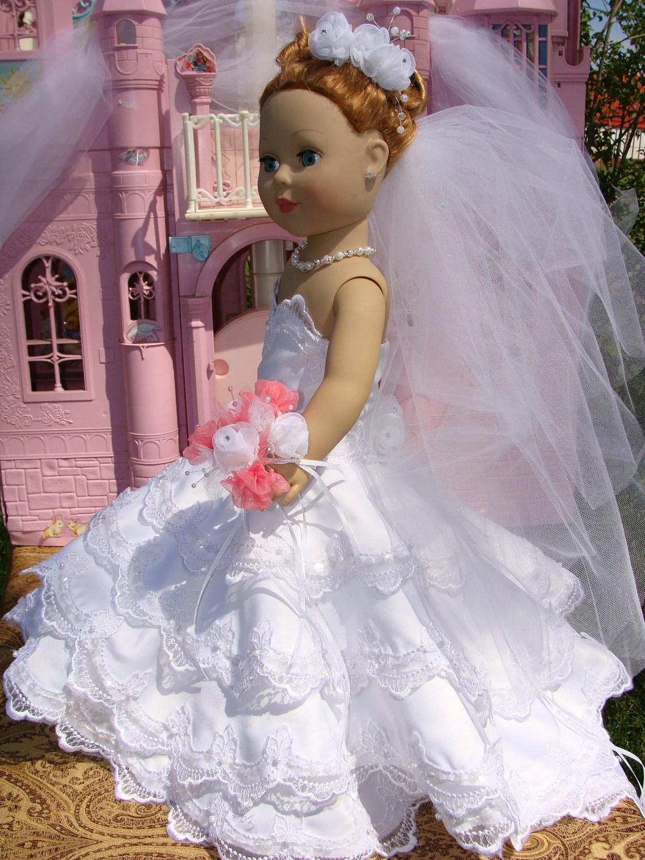 American Girl Wedding Gown