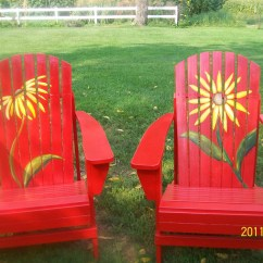 Ideas For Painting Adirondack Chairs Ergonomic Chair Lebanon Unique Hand Painted
