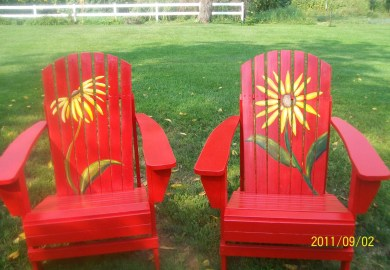Ideas For Hand Painted Chairs