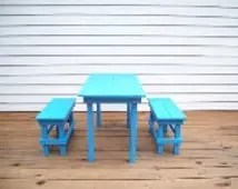 unfinished wooden chairs for toddlers zebra camping chair popular items kids picnic table on etsy