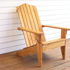 Adirondack Chair Wood Breakfast Nook Chairs Furniture Outdoor