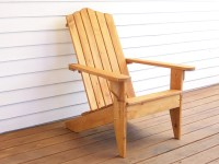 Outdoor Wood Chair Adirondack Furniture Outdoor by ...