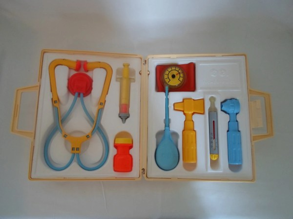 Vintage Fisher Medical Kit 1977 Usa