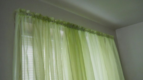 Lime Green Curtains Sheer Large 1 2 Panels Window Door