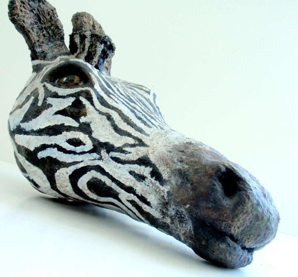African Animal Masks Paper Mache