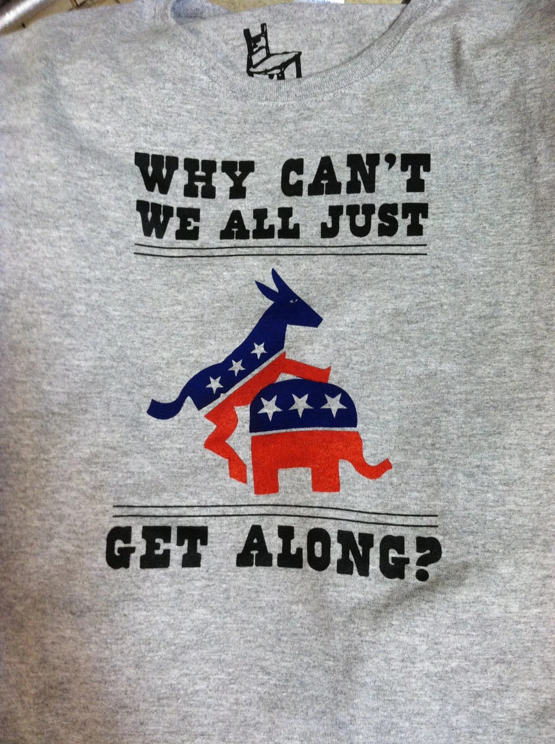 Why can't we all just get along T-shirt